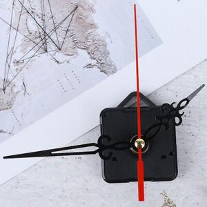Spindle Long Red Black hollow out Hands Quartz Clock Movement Mechanism Par I-