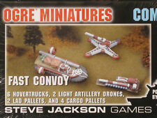 OGRE Combine Set 10 Fast Convoy, Miniatures Jackson Games, Sealed, MegaExtras!
