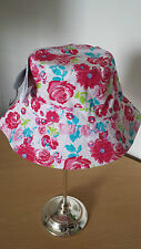 BNWT BABY GIRLS AGE 12-23 MONTH FLORAL PRINT SUN HAT BY MATALAN