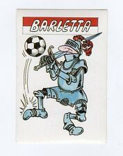 figurina CALCIO FLASH 1988 SCUDETTO BARLETTA