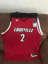 adidas Louisville Cardinals  2 NCAA Basketball Jersey Size 2xl Mens bddb7feb4