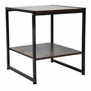 2 Layer Coffee Desk Multifunctional Tea Table Sofa Table For Home Department ND2