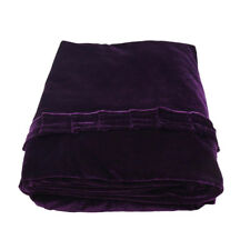 Piano Dust Proof Full Cover Piano Cover Cloth for Upright Piano Purple