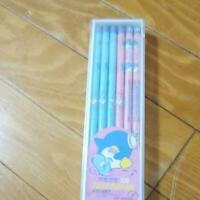 Vintage Sanrio Tuxedo Sam Pencil set of 12 1985 New In Box Rare Pink Blue 2B wow