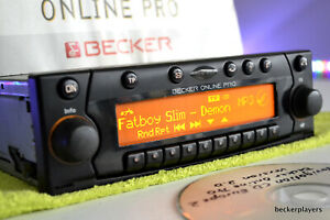 Becker Online Pro MP3 Radio CD player MMC Navi AUX BMW Mercedes Porsche Ferrari!