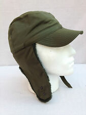 Genuine Swedish Army Cold Weather Hat Very Warm 57cm small/med