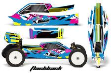 AMR Proline Bulldog Kyosho RB6 Buggy RC Prol-line Graphic Decal Kit 1/10 FLASHBK