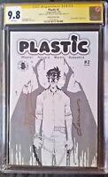 Plastic (2017 Image) #2 Variant CGC SS 9.8  2x Martin Wagner