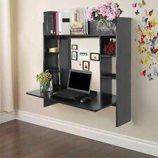 Wall Mount Floating Desk Storage Shelf Home Computer Desk Gift for Kids Student