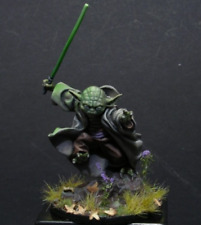 Classic Scale Star Wars Yoda 75MM Miniatures Unpainted Resin Model Kit Figure