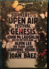 1978 SUMMERTIME OPEN AIR FESTIVAL GERMAN TOUR PROGRAM BOOK~GENESIS~SCORPIONS++++