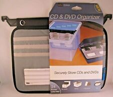 CD and DVD Organizer 25 Pocket Letter Size InFile Storage New