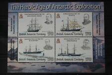 Britische Gebiete in der Antarktis Block 15 mit 471-474 ** postfrisch #WJ368