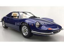 Top Marques 1969 Ferrari 246 GTS Dino Dark Blue 1/12 Scale LE of 250 New Rare!