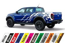 2x Ford Ranger Pickup truck #51 Auto Vinyl Styling Vinyl Car Body Sticker Decal