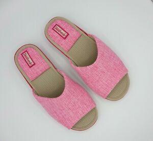 Ladies Scuff Slipper - DeValverde 9197 PIP  - Pink