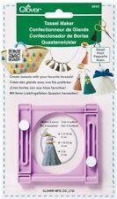 Clover Small Tassel Maker 9940 Basic instructions included