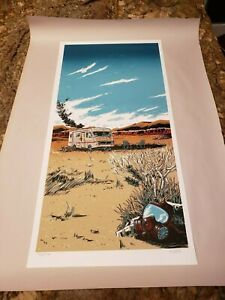 """TIM DOYLE """"The Cook"""" FIRST EDITION!!! Breaking Bad, Signed and Numbered 12x24in"""