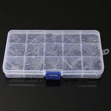 01uf 220uf Electrolytic Capacitor Assortment Kit 200pcs 15 Values With Box