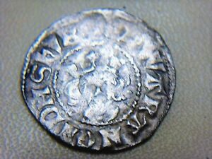 Hammered Silver Coin Edward Penny, Canterbury Unresearched Metal Detecting Find.