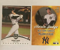 AARON JUDGE 2015 Leaf #01 + Bonus MLB RARE ROOKIE CARD NY Yankees RC