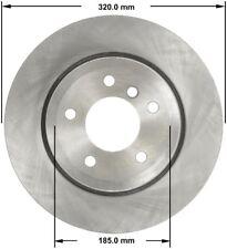 Disc Brake Rotor-Premium Brake Rotor Rear Bendix PRT5820