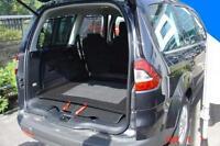 Kofferraumwanne mit Antirutsch Ford Galaxy II 2006-2015 3. Sitzreihe eingeklappt