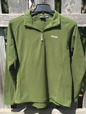 - Mens Sherpa Pullover Fleece Shirt Large Green