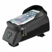 RockBros Cycling Bike Waterproof Front Frame Tube Bag Touch Screen Phone Pouch