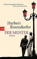 Der Meister: Roman von Rosendorfer, Herbert | Buch | Zustand sehr gut