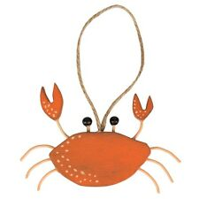 Sass & Belle Wooden Crab Nautical Hanging Decoration