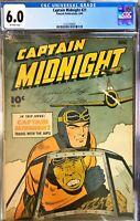 Captain Midnight #21 CGC 6.0 June 1944