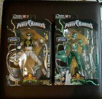 Power Rangers Legacy Green Ranger + White Ranger NEU!