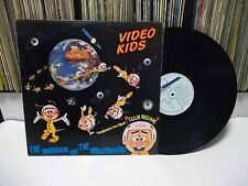 VIDEO KIDS -The Invasion Of The Spacepeckers KOREA LP. Do The Rap !