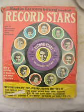 RADIO LUXEMBOURG RECORD STARS ANNUAL vintage 1962