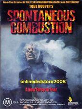 SPONTANEOUS COMBUSTION (Tobe HOOPER) HORROR THRILLER Film DVD (NEW SEALED)