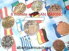 2010 SAN MARINO 8 monete EURO saint san Marin 8 pièces