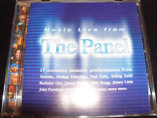 The Panel Music Live from TV Soundtrack CD Jimmy Barnes Colin Hay Billy Bragg