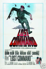 Lost command Anthony Quinn vintage movie poster