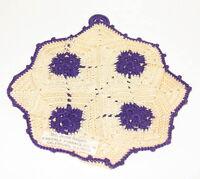 Details about  /Vintage Kitchen 4 pc Crochet Bloomers Shirt Pants Romper Potholder Hot Pad Doily
