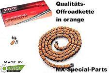 Orange 520 chaîne, MOTO course chaîne KTM SX 125 144 150 200 250 300 400 HT