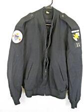 a9c06fc30f5 Neptune Garment Co Wool Blend Black Officer Jacket 42R WESTPOINT H-2 Happy  Hell