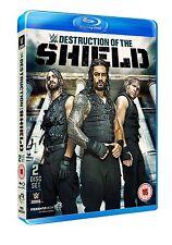 WWE DESTRUCTION OF THE SHIELD  Doppio BluRay wrestling in inglese NEW PRENOTAZ.