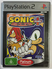 Sonic mega collection plus platinum ps2 playstation 2 game