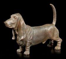Hunde Figur - Basset Hound stehend - Hundeliebhaber Geschenk