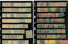 Philippines Mint (mostly) & Used on 18 Double-sided Varios,  All Periods