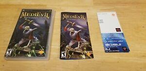MediEvil Resurrection (Sony PSP, 2005) COMPLETE w/ REGISTRATION!