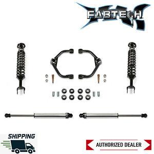 "Fabtech 3"" Uniball UCA Lift Kit W/ Dirt Logic Shocks & Coilovers 20-21 Ram 1500"