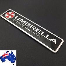 3D Aluminum Umbrella corporation car stickers Resident Evil decoration badge