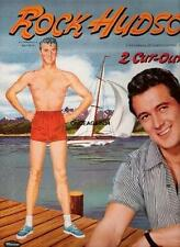 Vintage Uncut 1957 Rock Hudson Paper Dolls~#1 Reproduction~Fabulous/Sca rce!